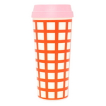 Hot stuff thermal mug - lattice