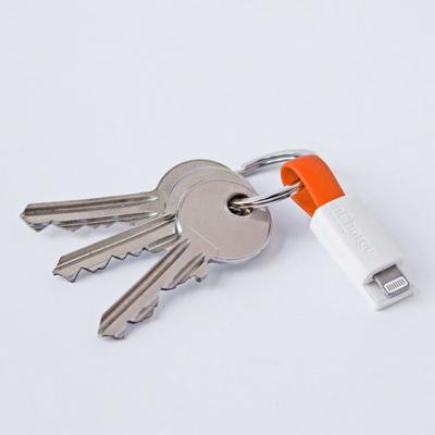 인차지 열쇠고리형 미니 충전케이블-아이폰전용