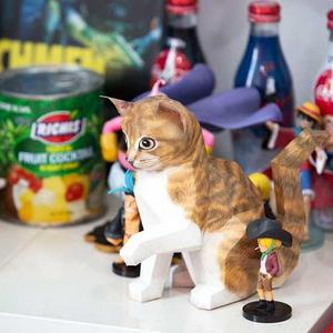 쇼트헤어 고양이 DIY 페이퍼 크래프트 만들기