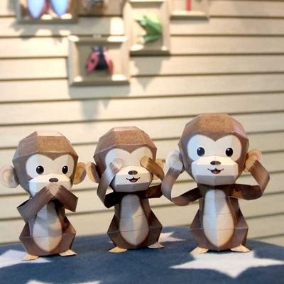 세 마리의 현명한 원숭이