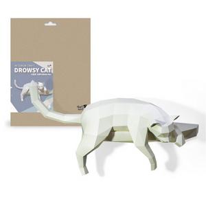 DROWSY CAT(나른한 고양이) 인테리어크래프트 DIY