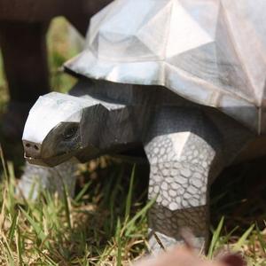 알다브라 코끼리거북 만들기- DIY 페이퍼크래프트