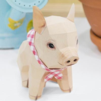 아기 돼지 DIY 페이퍼토이 만들기