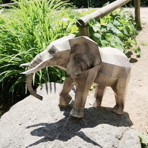 코끼리 만들기- DIY 페이퍼크래프트