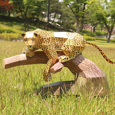 표범 만들기- DIY 페이퍼크래프트
