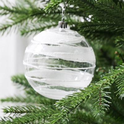 크리스마스트리 장식 오너먼트 볼모음 라인믹스 10cm