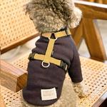 H489 H형 강아지 하네스 가슴줄