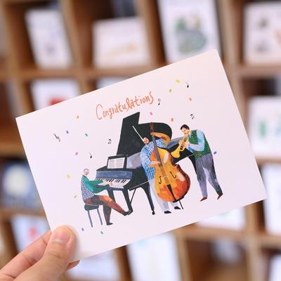 콘서트 축하 카드