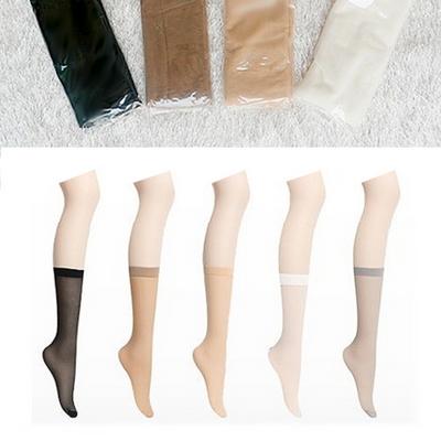 여자 고탄력 판타롱 스타킹 - 5켤레 묶음세트 - 5color 살색 커피색 흰색 회색 검정색