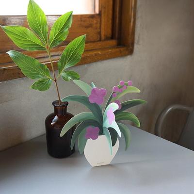 토도비엔 카드 모빌-사는게꽃같지 (+리무버블 스티커)