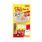 이나바 고양이 챠오츄르 닭가슴살 게살 14gx4개입