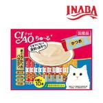 이나바 고양이 챠오츄르 참치 가다랑어 버라이어티 14gx40개입