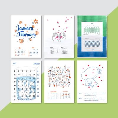 Risograph Calendar_2017