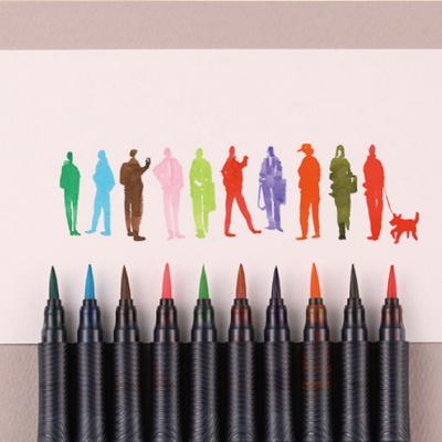 모나미 컬러리얼브러쉬 36색 낱개판매_브러쉬 리필