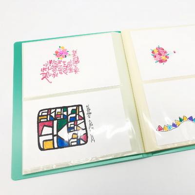 엽서 보관 파일 4-6 5-7 사이즈