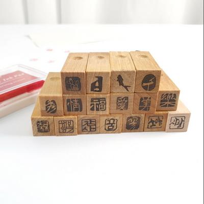 작품의 완성 기본낙관 3푼 문양 한글 한자