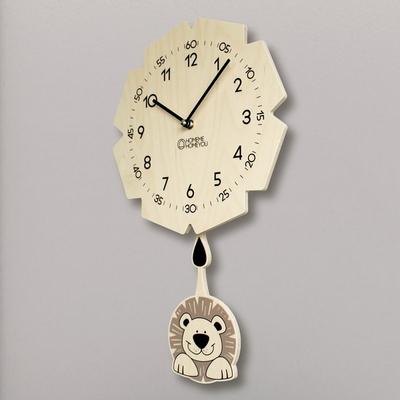 교육용 추벽시계 (용감이 라이니)
