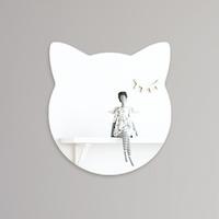심플 고양이 아크릴 안전거울 유아 어린이 거울
