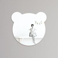 심플 곰 아크릴 안전거울 유아 어린이 거울