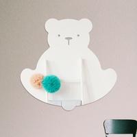 아기곰 붙이는 아크릴 안전거울 욕실 아이방 어린이집