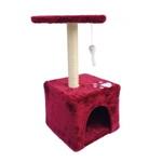 레츠펫 레드하우스 고양이 캣타워 LP-002