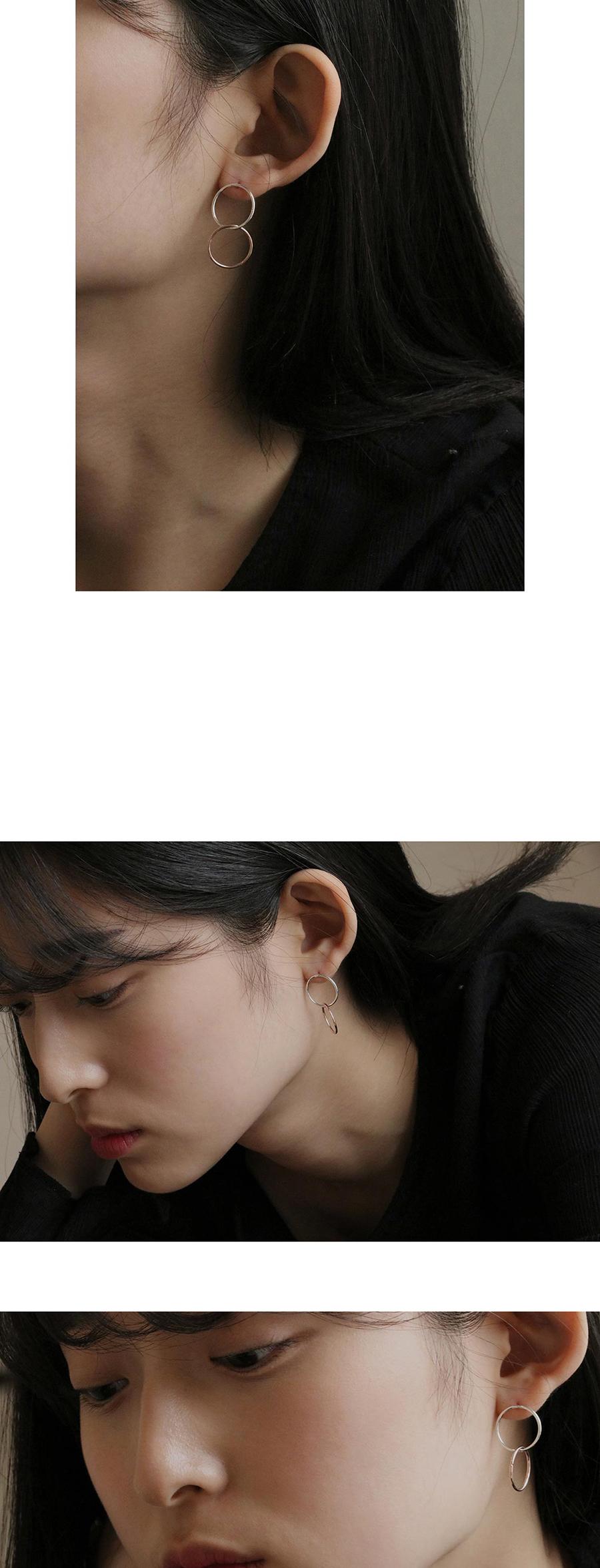silver rose gold ring earring34,000원-레스이즈모어주얼리/시계, 귀걸이, 실버, 드롭귀걸이바보사랑silver rose gold ring earring34,000원-레스이즈모어주얼리/시계, 귀걸이, 실버, 드롭귀걸이바보사랑