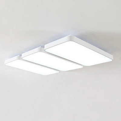 심플 화이트 LED거실등(2+2+2)180W