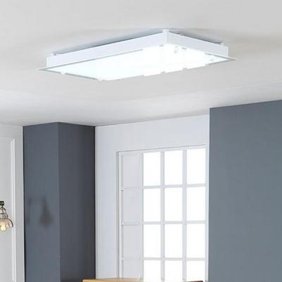 화이트 직사각 LED90W 거실등