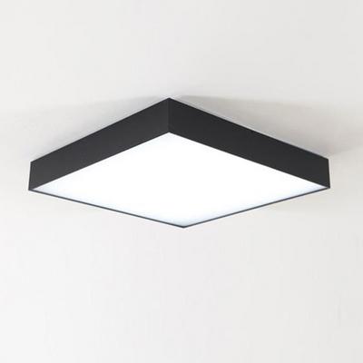 아스텔 블랙 LED50W 정사각 방등