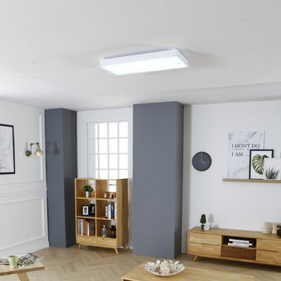 화이트 직사각 LED60W 방등