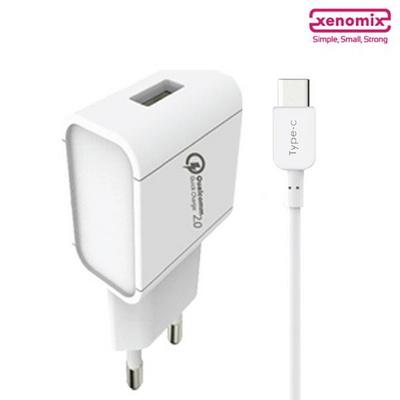 제노믹스 QC2.0 고속 C타입 가정용 USB 충전기