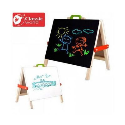클래식월드 영유아 장난감 테이블탑 이젤 자석칠판