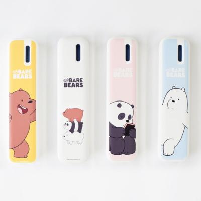 위베어베어스 휴대용 칫솔 살균기 USB 건전지 겸용