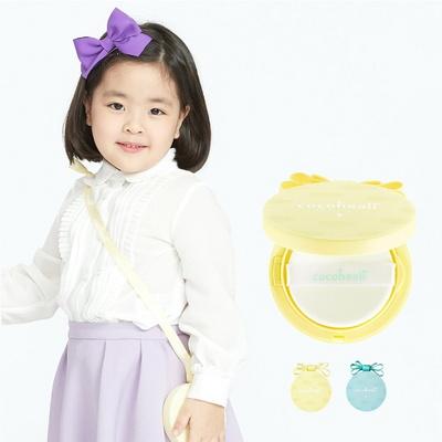 코코힐리 어린이 자외선차단 피부진정 썬쿠션 써니팡 팩트 20g