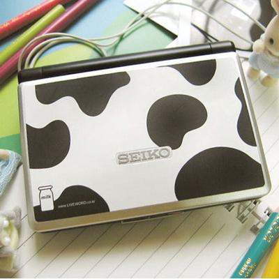 전자사전용 스킨(소) - milk cow