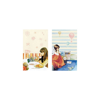 T-size card sticker - 5TYPE