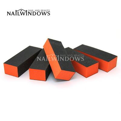 네일윈도우 사각샌딩블럭(오렌지100-180)
