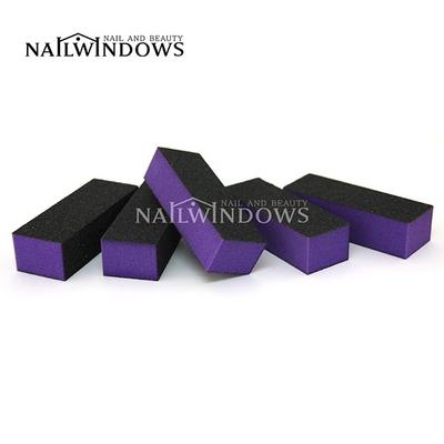 네일윈도우 사각샌딩블럭(퍼플60-100)