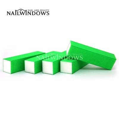네일윈도우 사각샌딩블럭(네온그린-150)