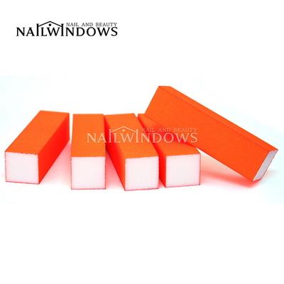 네일윈도우 사각샌딩블럭(네온오렌지-180)