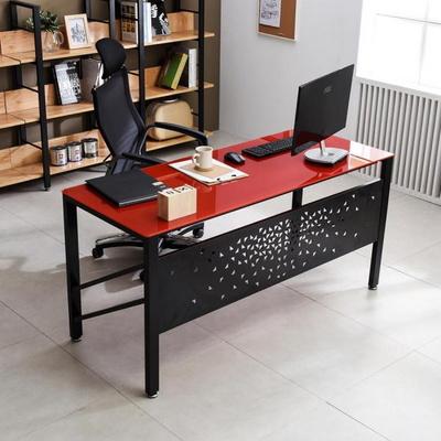 TS-01 강화유리 책상 1800x600 철제 컴퓨터 사무용책상