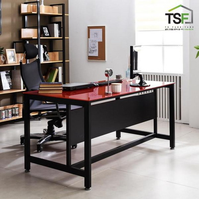 TS-03 강화유리 책상 1500x800 컴퓨터 사무용데스크