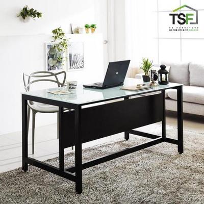 TS-03 강화유리 책상1800x800 철제 컴퓨터 사무용책상
