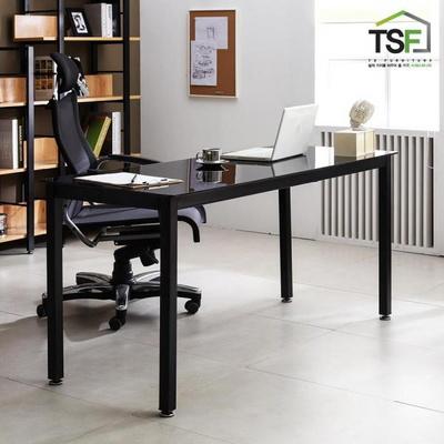 TS-04 강화유리 책상 1800x800 철제 컴퓨터 사무용 게이밍 데스크