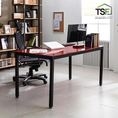 TS-04 강화유리 책상 1500x800 철제 컴퓨터 사무용 게이밍 데스크