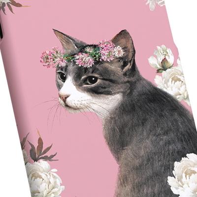 고양이 일러스트 케이스 - 메이