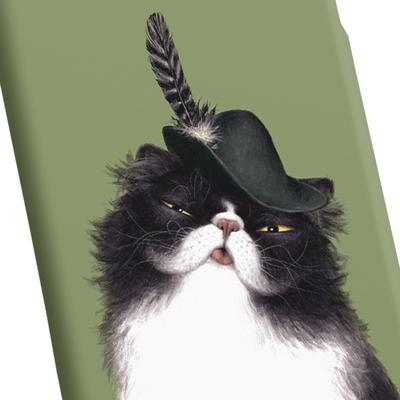 고양이 일러스트 케이스 - 치치