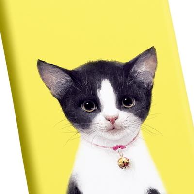 고양이 일러스트 케이스 - 벨