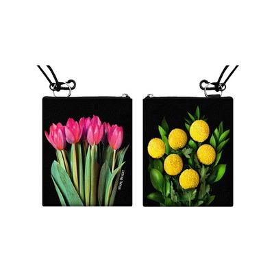 Tulip pompom card pocket