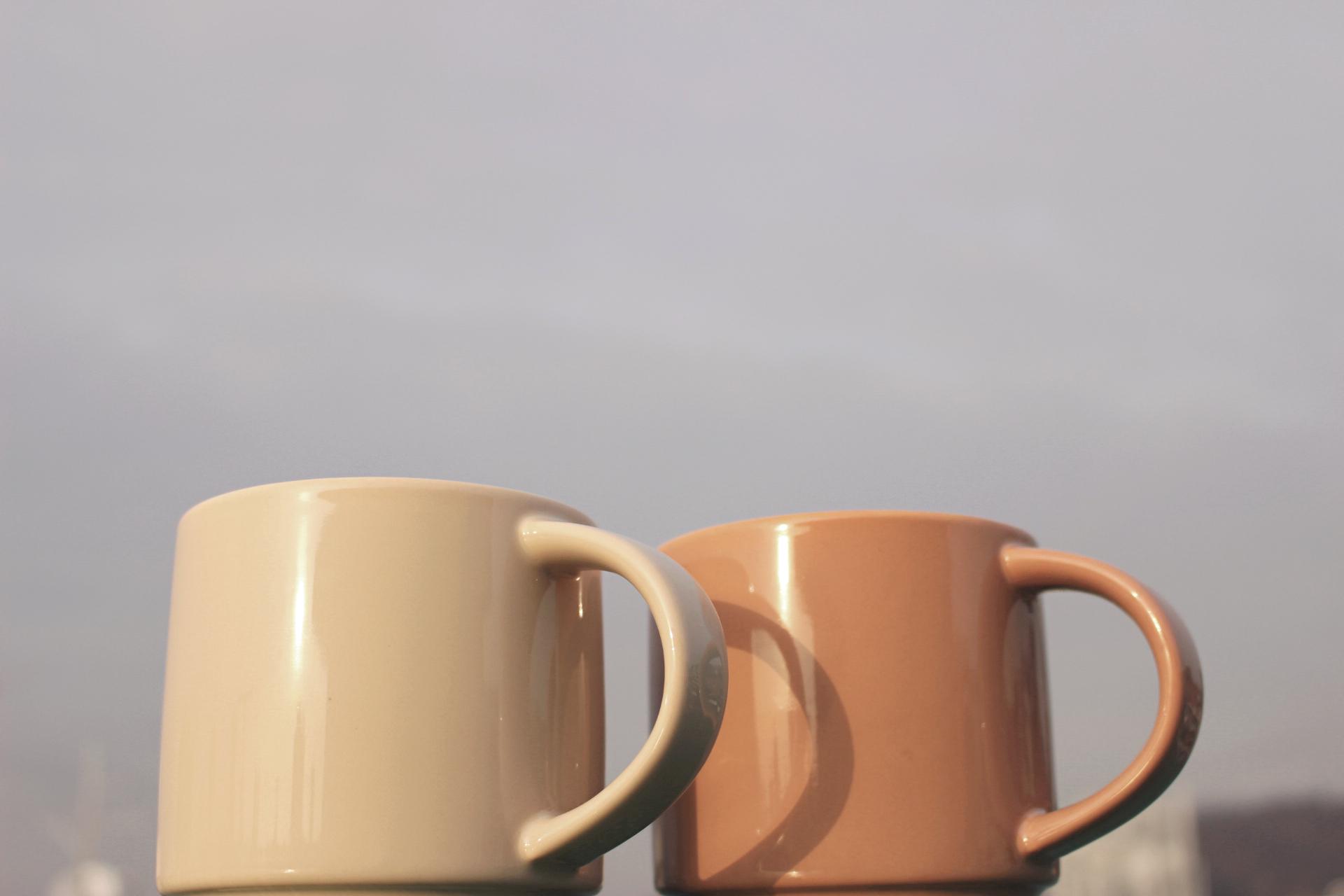 모던 대용량 큰 머그컵 카페 빅 루미 머그잔(450ml) - 황공방, 11,000원, 머그컵, 심플머그